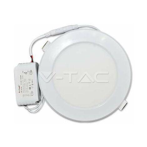 Spot LED Extra-plat Carré 12W Blanc Avec Transfo Vt-1207