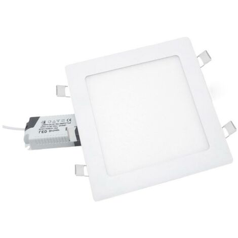 Spot LED Extra Plat Carré BLANC 24W