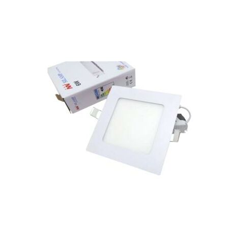 Spot LED Extra Plat Carré BLANC 6W