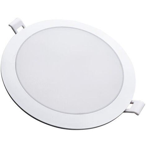 Spot LED Extra Plat Rond BLANC 12W Ø115mm