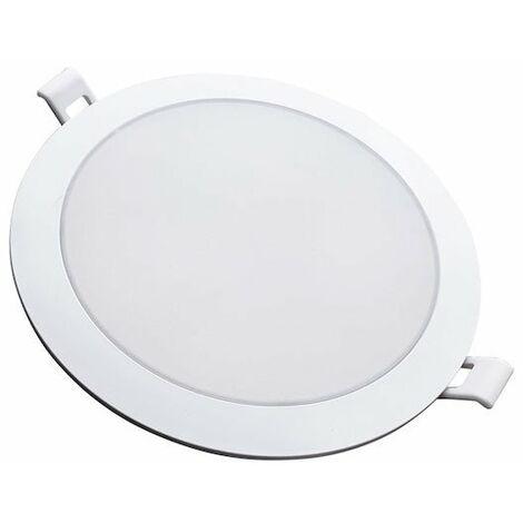 Spot LED Extra Plat Rond BLANC 18W Ø170mm