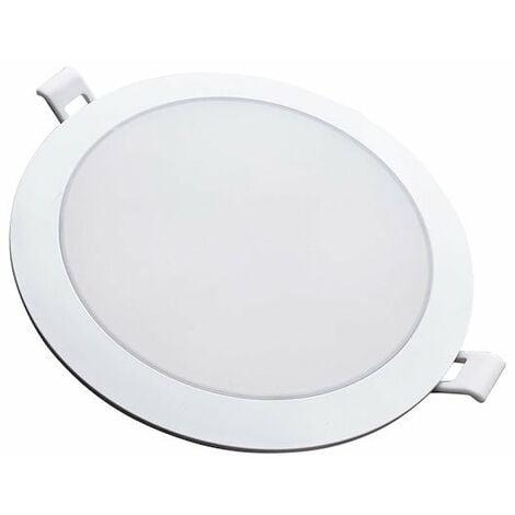 Spot LED Extra Plat Rond BLANC 24W Ø224mm