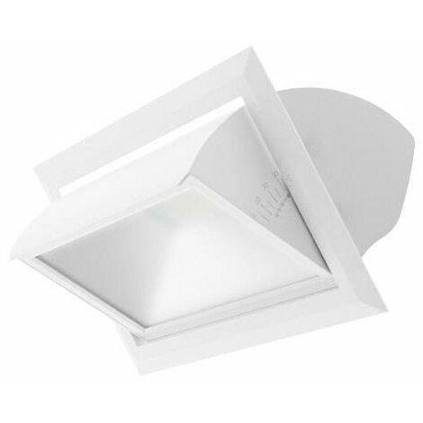 Spot LED Focea 1 SX - Orientable - 40W - 4400Lm - Rectangulaire - Blanc - non dimmable