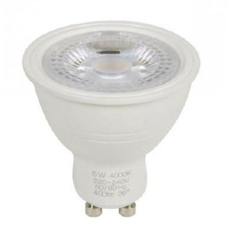 Spot led GU10 5 watt (eq. 50 watt) - dimmable - Couleur - Blanc neutre 4000°K