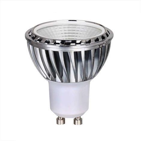 Spot LED GU10 COB 5W équivalent 50W Dimmable - Blanc Chaud 2700K
