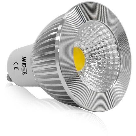 Spot LED GU10 COB 6W (éq 50W) 75°