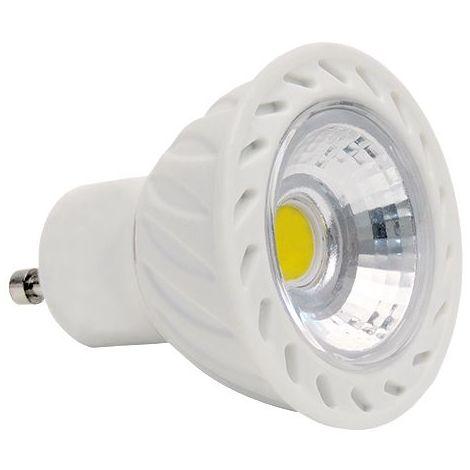 Spot led GU10 COB ceramique 7 watt Dimmable