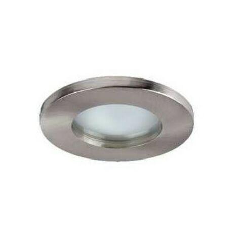 Spot LED HD1050 R - GU10 - Fixe - 50W - Rond - Nickel satiné - Sans ampoule