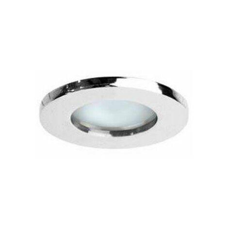 Spot LED HD1070 R - GU5.3 - Fixe - 50W - Rond - Chrome - Sans ampoule
