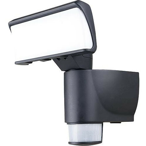 spot LED IP44 avec suivi de mouvement 18W, 4000K, 1100lm, anthracite