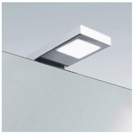Spot led miroir carré winuno - : - Type d'éclairage : LED - Température de couleur : 4000 K - Puissance : 5,7 W - : - Fixation : Sur chant - Couleur de la lumière : Blanc neutre - Indice de prote