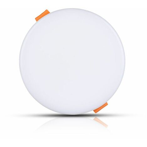 Spot LED Plat  Pro 24W Avec Patte De Fixation Ajustable Samsung Chip Rond Blanc Avec Transfo Vt-625rd