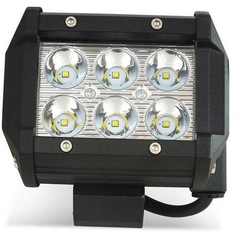 Spot LED pour machine, 4x4 off road automobile et bateau 18W - 1800lm - Angle fermé