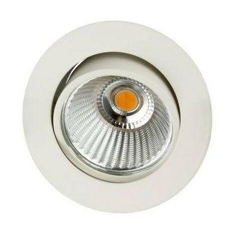 Spot LED Rond 6W 3000K Blanc (AL101430)