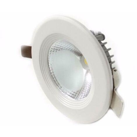 Spot LED Rond encastrable COB 7W 80