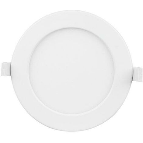 Spot LED Rond Extra Plat 9W Ø115mm Dimmable Température Variable - Blanc - SILAMP