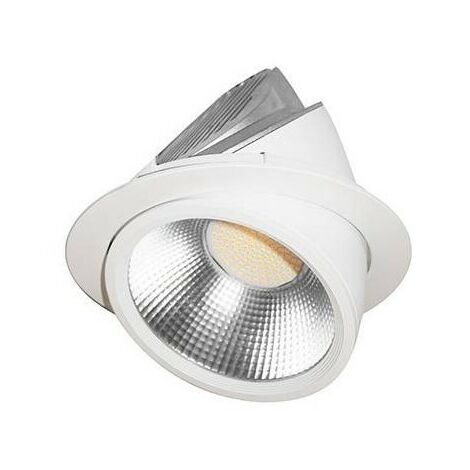 Spot LED Spira 2 RX - Orientable - 60W - 6900Lm - Rond - Blanc - non dimmable