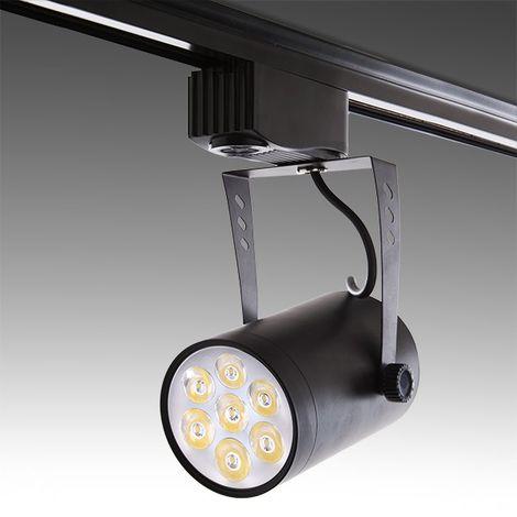 Spot LED Sur Rail 7W 700Lm 30.000H Ashley