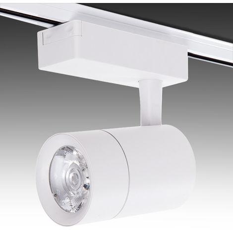 Spot LED Sur Rail Monophasé 30W 2600Lm 30.000H Faith IDI-FC-M-30-CW