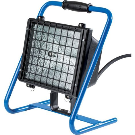Spot obra proyector halógeno 1000 w,azul