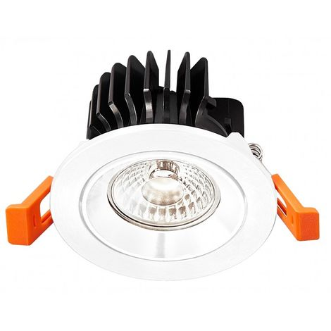SPOT ORIENTABLE 7W 700lm 60° Ø 80MM Ø PERCAGE 68MM 6000°K DIMMABLE