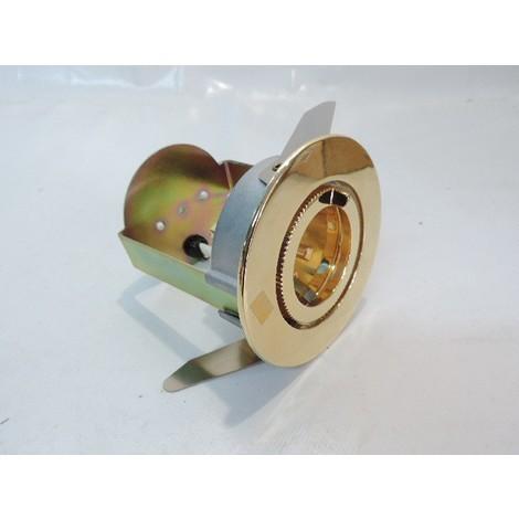 Spot orientable doré Ø 96mm orientable pour lampe 12V 50W max G5.3 (non fournie) AYRTON 96 ARTEMIDE L613060