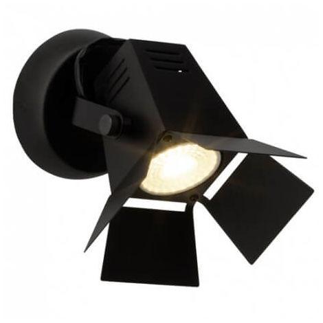 Spot patère LED Movie LED - Noir