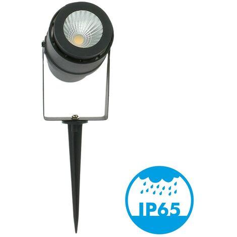 Spot piquet de Jardin LED 12W Noir 720 LM