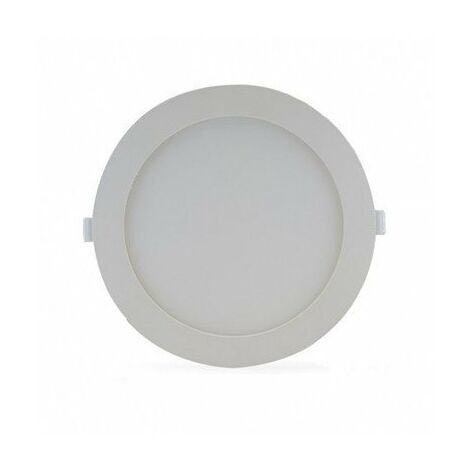 Spot plat blanc - Plafonnier - 18W - 4000K - Rond - 1660lm - Non dimmable