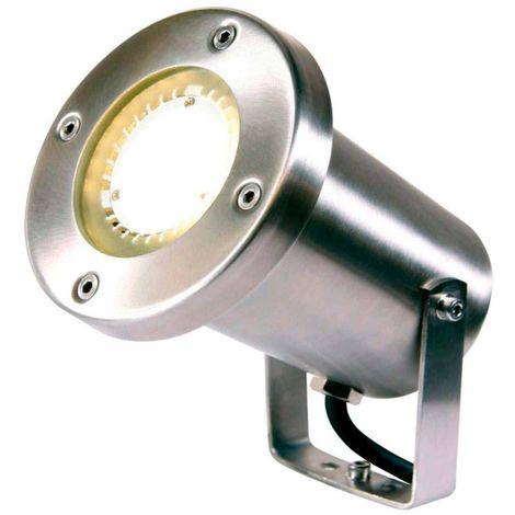 Spot projecteur à piquer ou visser PROTEGO 5W GU5.3 MR16 IP68 Blanc Chaud Orientable éxterieur Garden lights ampoule fourni