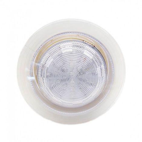 Spot RGB ip68 étanche encastrable 110 mm ø 3W led pour salle de bain et hammam