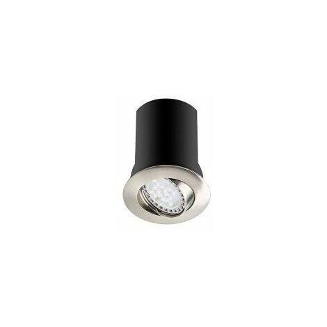 Spot RT1014 RX - GU10 - Orientable - 10W - Sans ampoule - Rond - Nickel