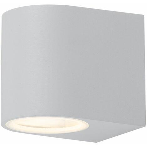 Spot RVB LED ALU mur bas, hauteur 9,2 cm VT-7651