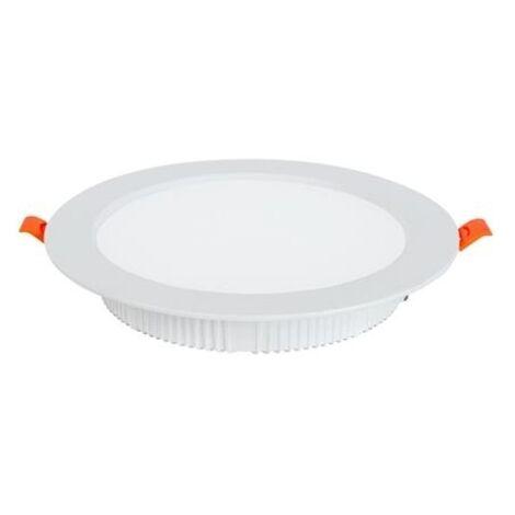 Spot SMD LED downlight rond blanc 30W 4200K (Eq. 240W) Diam. 230mm
