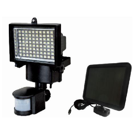 Spot solaire 800 lumensà detecteur de mouvement