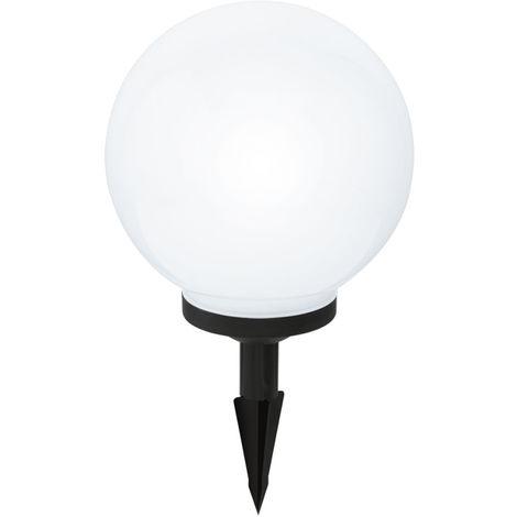 Spot solaire à LED RGB, changeur de couleur, boule, D 25 cm
