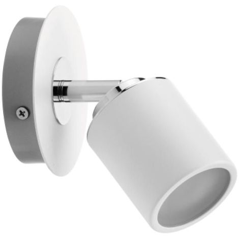 Spot Tube IP44 max. 1x10 W GU10 blanc/chromé
