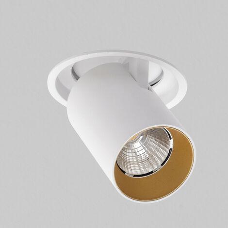 Spotlight AqLus Mike LED downlight 10W 3000k blanco y oro A5-678.103008A13