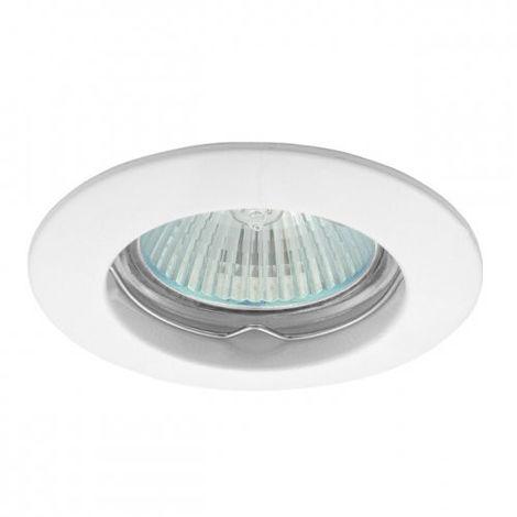 Spotlight Noble empotrables en el techo acabado agujero blanco 64mm 4002/BI