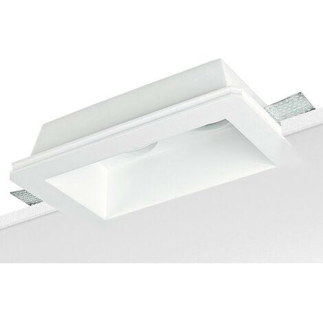 Spotlight Noble en techo de yeso y placas de yeso para 2 lámparas 9097
