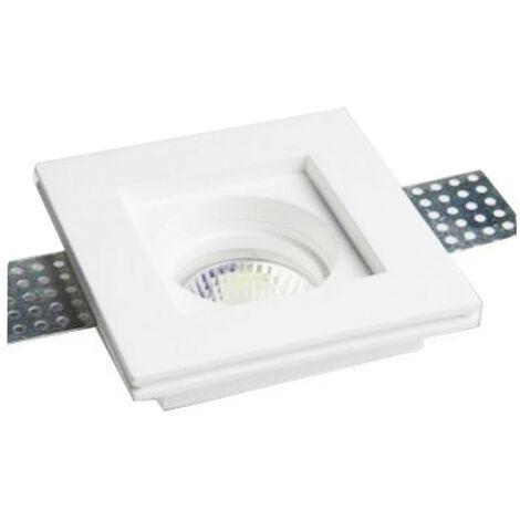Spotlight yeso podemos ofrecer y asesorar a la plaza para lámparas GU10 100x100mm 400721