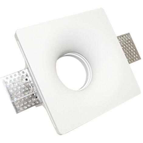 Spotlight yeso podemos ofrecer y asesorar a la plaza para lámparas GU10 120x120mm 400954