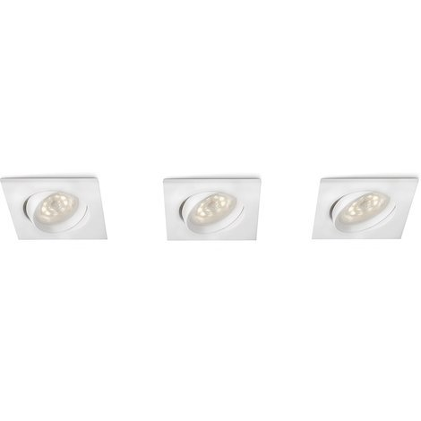 Spots encastrables Galileo LED - Blanc - Philips 518262