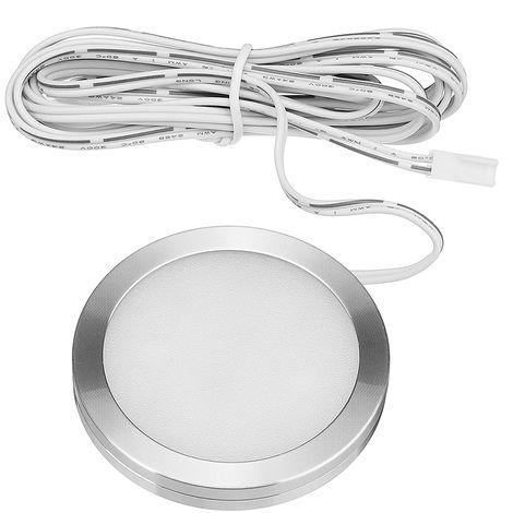 Spot LED dint/érieur avec t/él/écommande pour camping-car T4 T5 12 V 4 lumi/ères