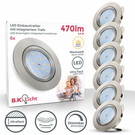 Spots LED encastrables dimmables ultra-plats spots à encastrer spots plafond