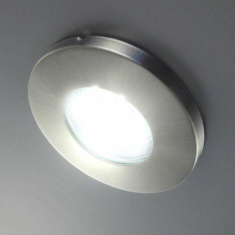 Spots LED encastrables salle de bain IP44 spot plafond à encastrer GU10