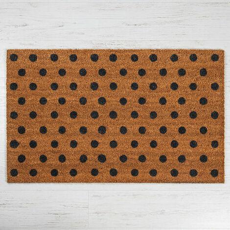 Spotty Coir Door Mat - Standard