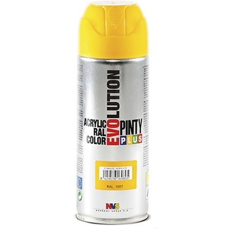 SPRAY ACRILICO BRILLANTE PINTYPLUS RAL 400 ML