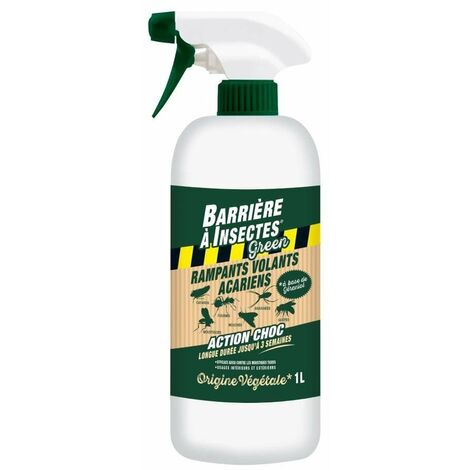Spray anti insectes d'origine végétale