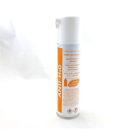 Spray Antihumedad, evita los efectos de la humedad en aparatos eléctricos, mecánica, Marina, etc Tasovision ANTIH2O 250cc